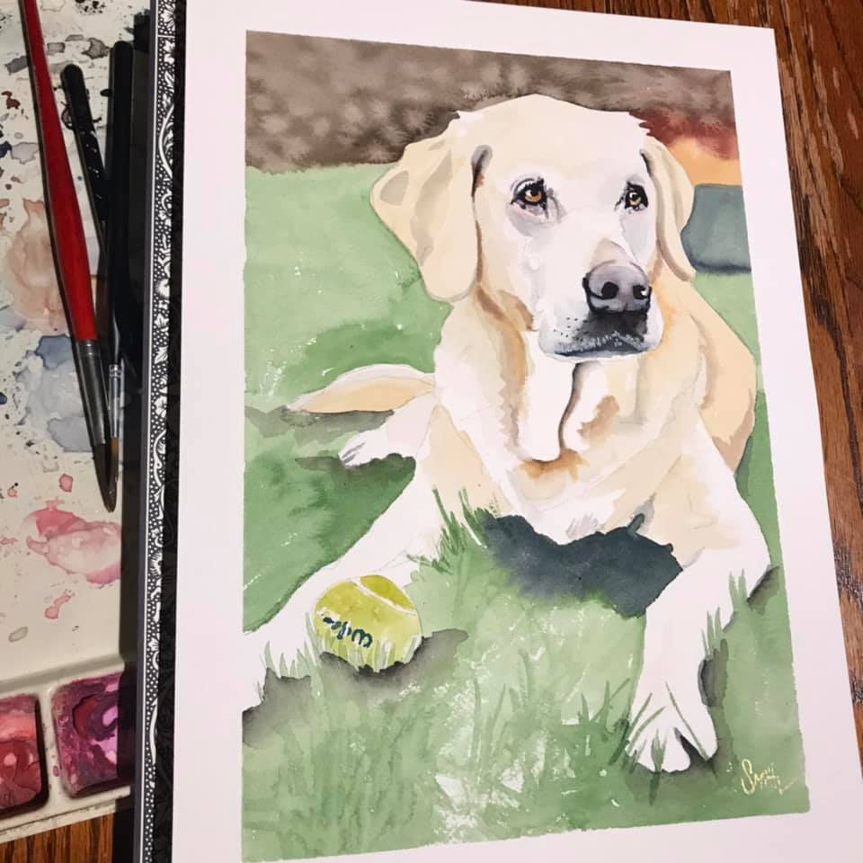 Custom Pet Portrait orders